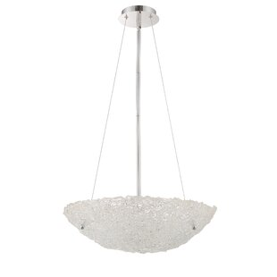 House of Hampton Bellaire 5-Light Bowl Pendant