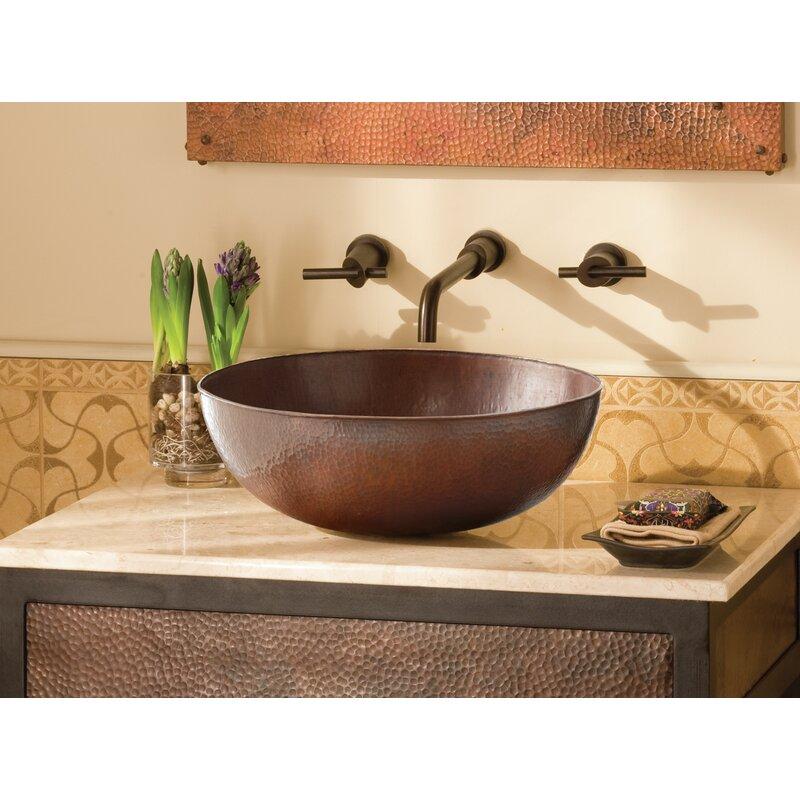 Native Trails Maestro Metal Oval Vessel Bathroom Sink Reviews Wayfair
