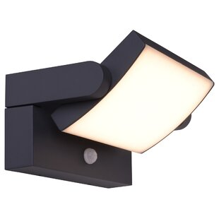 Gaskell 72 Light LED Outdoor Sconce With PIR Sensor By Sol 72 Outdoor