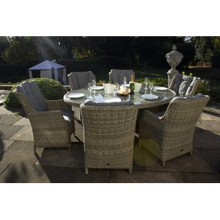 Swindon 6 Seater Dining Set With Cushions By Sol 72 Outdoor