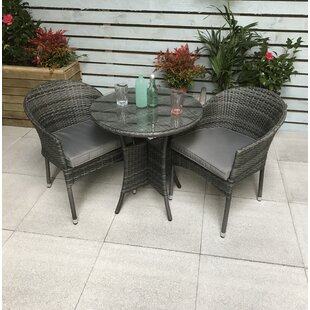 Lilia 2 Seater Bistro Set With Cushions By Sol 72 Outdoor