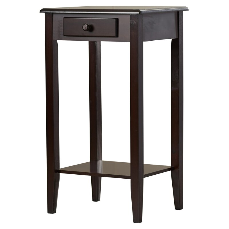 Telephone Table charlton home lydia telephone table & reviews | wayfair