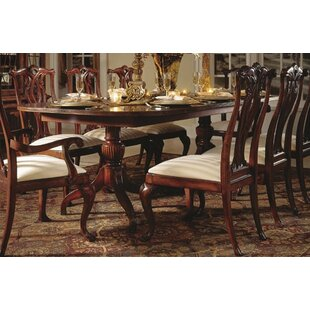 Astoria Grand Staas Extendable Dining Table