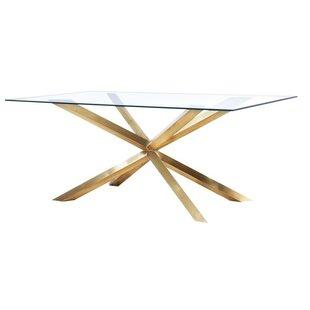 Wilbanks Modern Dining Table by Orren Ellis