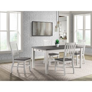 Jamison 5 Piece Extendable Dining Set