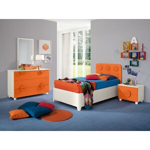 Dave Kids Panel 4 Piece Bedroom Set