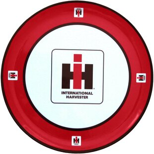 International Harvester Melamine Plate (Set of 4) By MotorHead Products