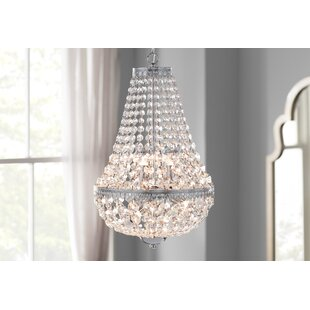Mcmiller Symmetric 6-light Empire Chandelier by House of Hampton