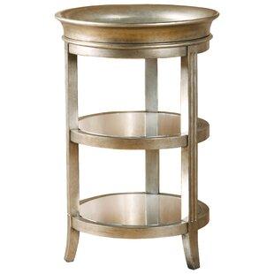Salkeld Three Shelf End Table