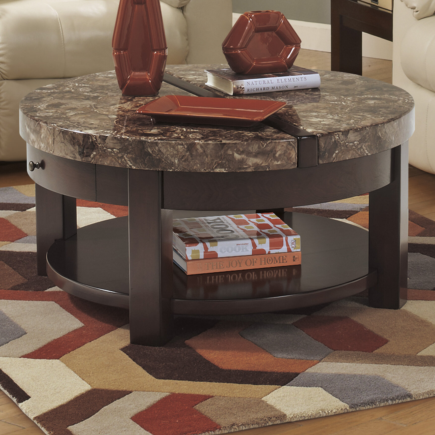 Loon Peak Evergreen Coffee Table with Lift Top & Reviews