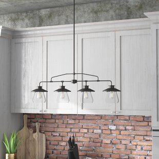 Pendant Kitchen Lighting Kitchen island lighting youll love wayfair de long 4 light kitchen island pendant workwithnaturefo