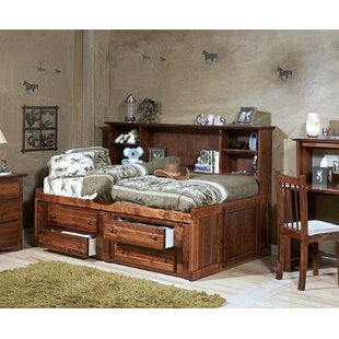 Reviews Cummings Twin Mate's & Captain's Bed with Bookcase By Harriet Bee