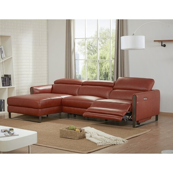 Strange Premium Leather Sectional Wayfair Ocoug Best Dining Table And Chair Ideas Images Ocougorg