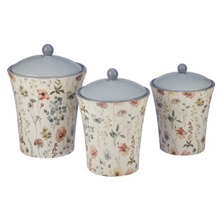 3 Piece Kitchen Canister Set