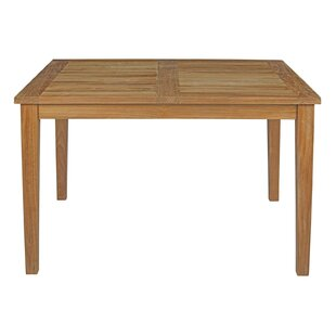 Elaina Outdoor Patio Teak Dining Table