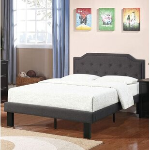 Harriet Bee Kaya Twin Upholstered Panel Bed