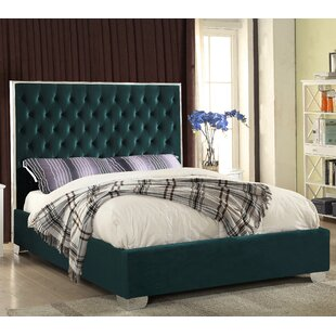 Everly Quinn Spadaro Upholstered Platform Bed