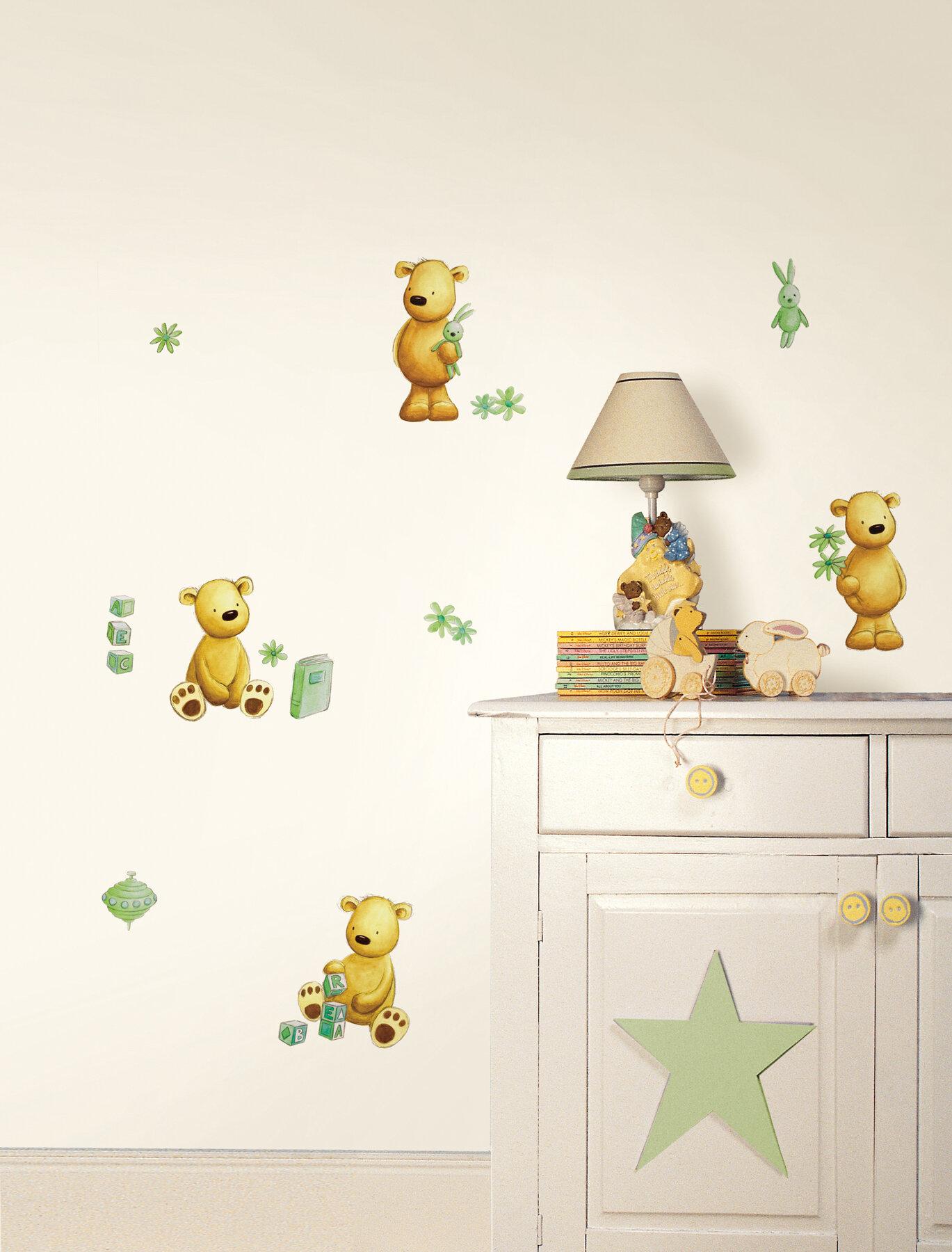 Wallpops Fun4walls Teddy Bear Wall Decal Wayfair