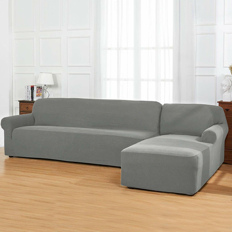 bolee l shaped box cushion sofa and chaise lounge slipcover
