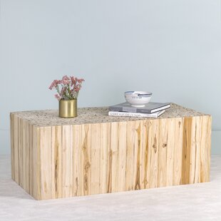 Vitiello Teak Coffee Table by Highland Dunes