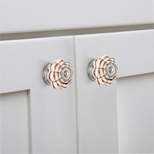 Handpainted Ringed Novelty Knob (Set of 8)