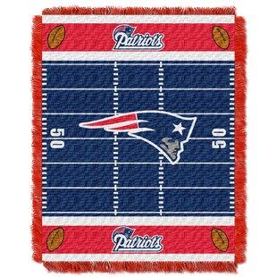 Best Review NFL Patriots Field Baby Blanket ByNorthwest Co.