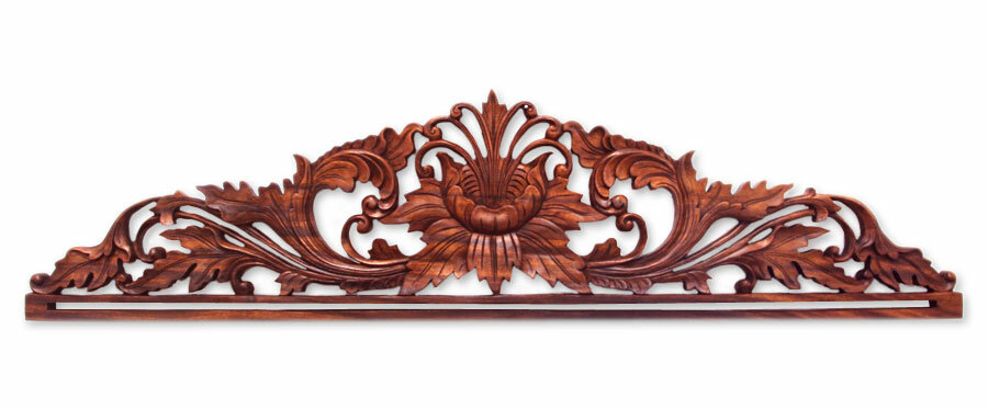 World Menageriefloral Wood Relief Panel Wall Décor Wayfair