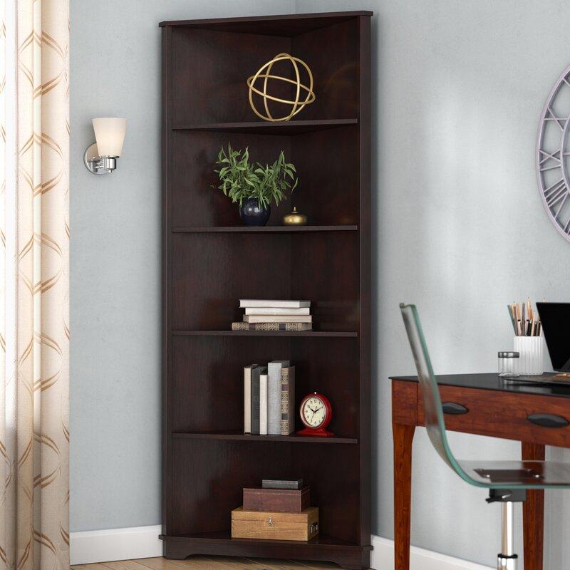 Red Barrel Studio Tauranac Corner Bookcase Reviews Wayfair