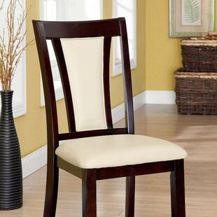 Mingus Upholstered Dining Chair (Set of 2) Alcott Hill