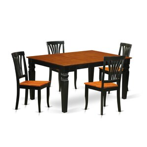 Arkin 5 Piece Dining Set by Darby Home Co