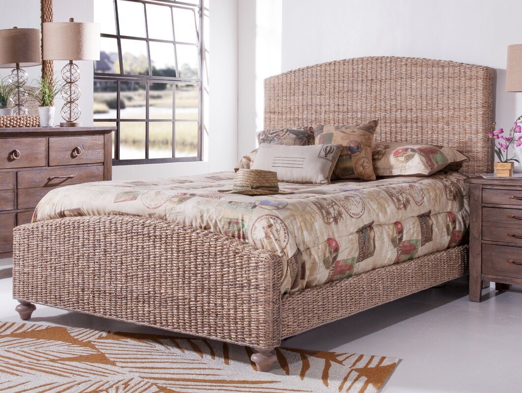 driftwood woven panel bed - Driftwood Bed Frame