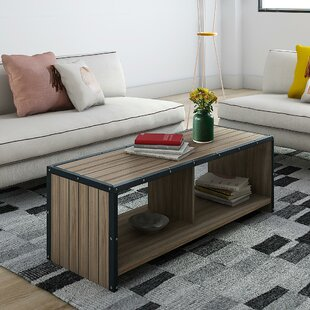 Ashland Coffee Table with Magazine Rack Trent Austin Design