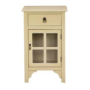 Torres 1 Door Accent Cabinet by August Grove