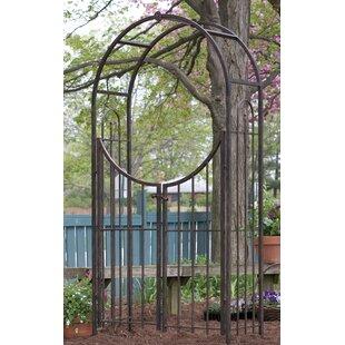 Arched Top Garden Gate Arch