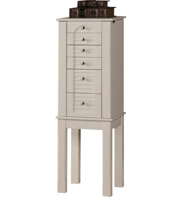 Off White Jewelry Armoire Wayfair