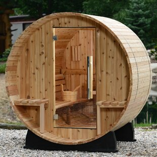 Vienna Cedar 2 Person Steam Sauna By Almost Heaven Saunas LLC