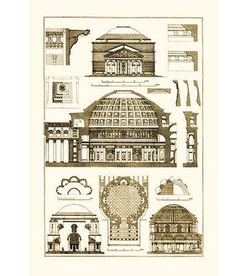 Roman Domical Vaulting By J Buhlmann Graphic Art Buyenlarge