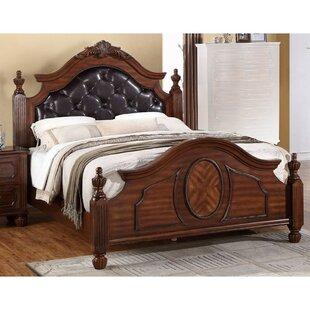 Astoria Grand Varney Transitional Wooden Upholstered Panel Bed