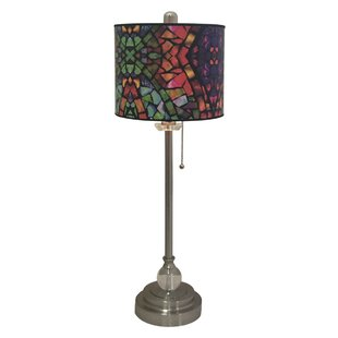 Pasley Mosaic Stained Glass 28 Table Lamp (Set of 2)