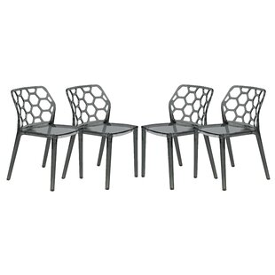 LeisureMod Dynamic Side Chair (Set of 4)
