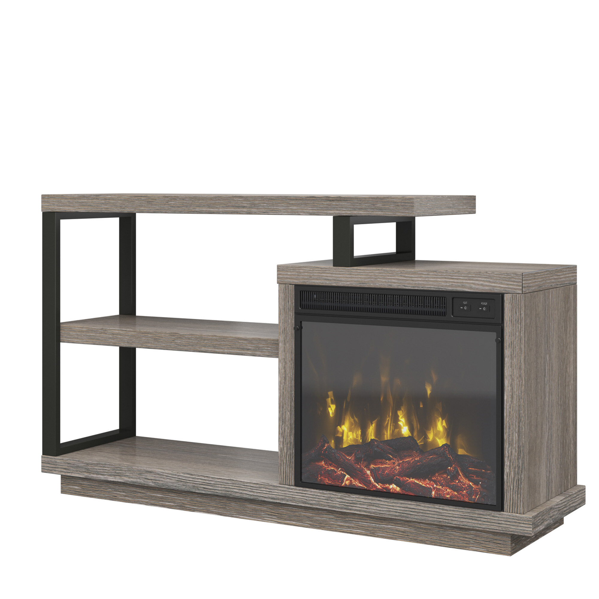 Astounding Louann Tv Stand For Tvs Up To 55 With Fireplace Download Free Architecture Designs Ponolprimenicaraguapropertycom