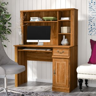 Brody 1 Drawer Computer Desk with Hutch