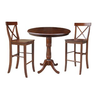 Dingler 3 Piece Pub Table Set ..