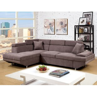 A&J Homes Studio Sleeper Sectional