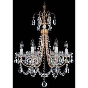 Lucia 6-Light Candle-Style Chandelier