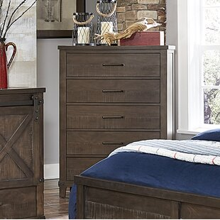 Gracie Oaks Bayaud 5 Drawer Chest
