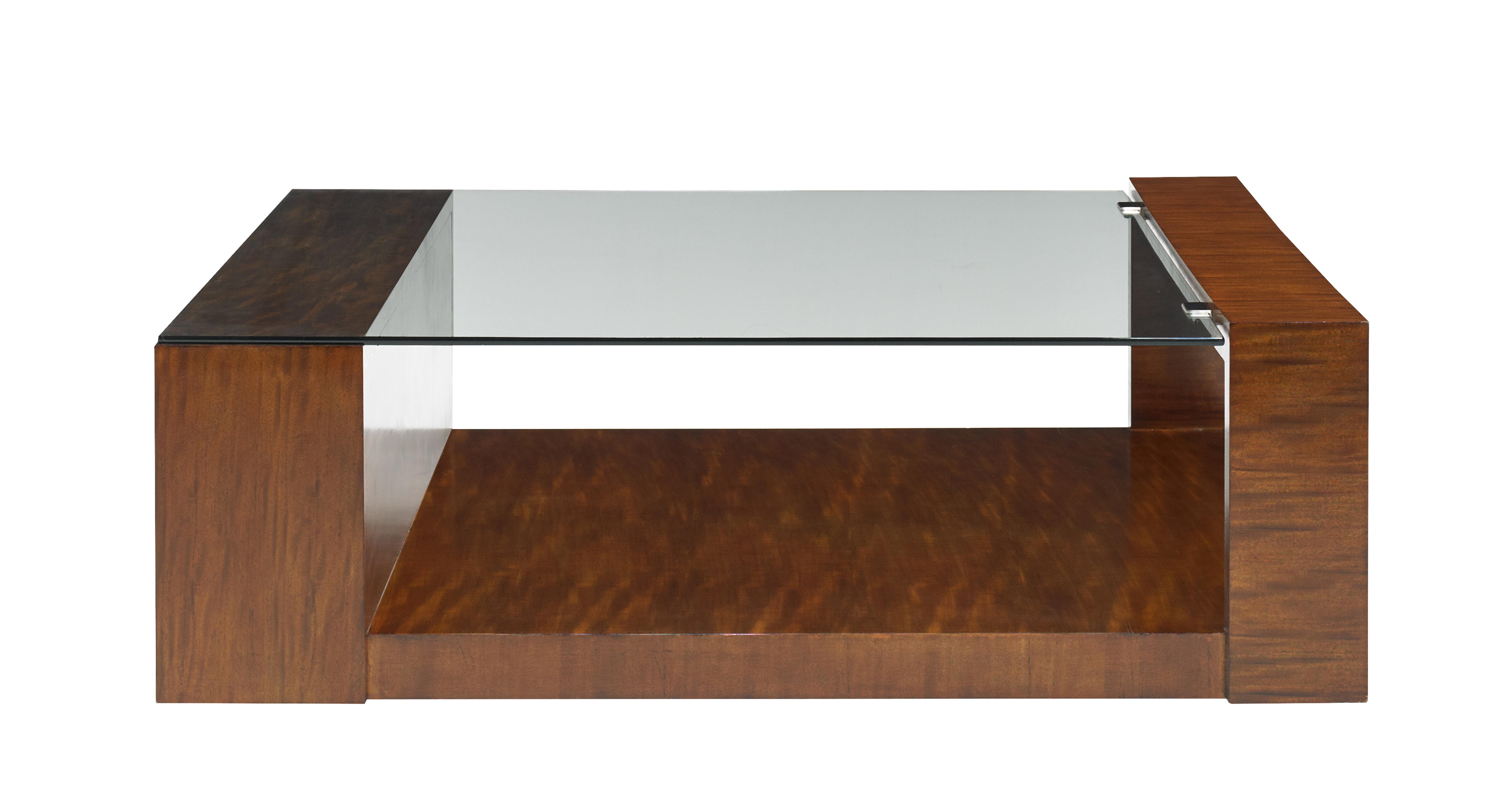 Cth Occasional Ollie Floor Shelf Coffee Table With Storage Wayfair