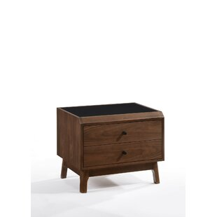 Jaelyn 2 Drawer Nightstand by Corrigan Studio