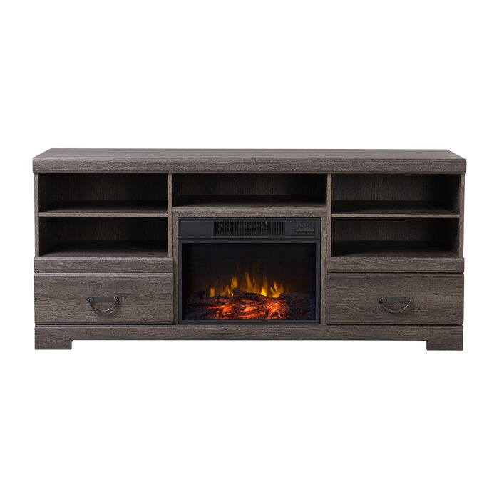 stand hill furniture stands for residence your simple decorators tv chestnut electric fireplace collection cheap decor within home in