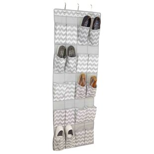 20-Pocket 10 Pair Hanging Shoe Organizer (Set of 2) By Home Basics